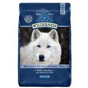 Blue Buffalo Wilderness Senior Dog Food