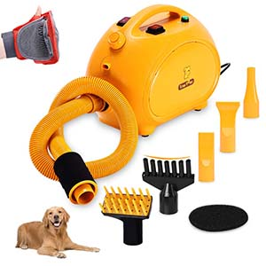 Free Paws Negative Ions Dog Dryer
