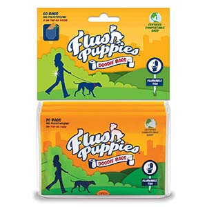 Flush Puppies Flushable Bag