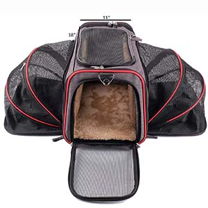 Pet Peppy Expandable Pet Carrier
