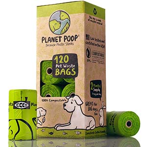 Planet Poop Large Bag