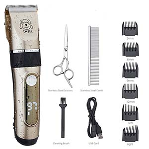 Iweel 2-Speed Professional Dog Clippers