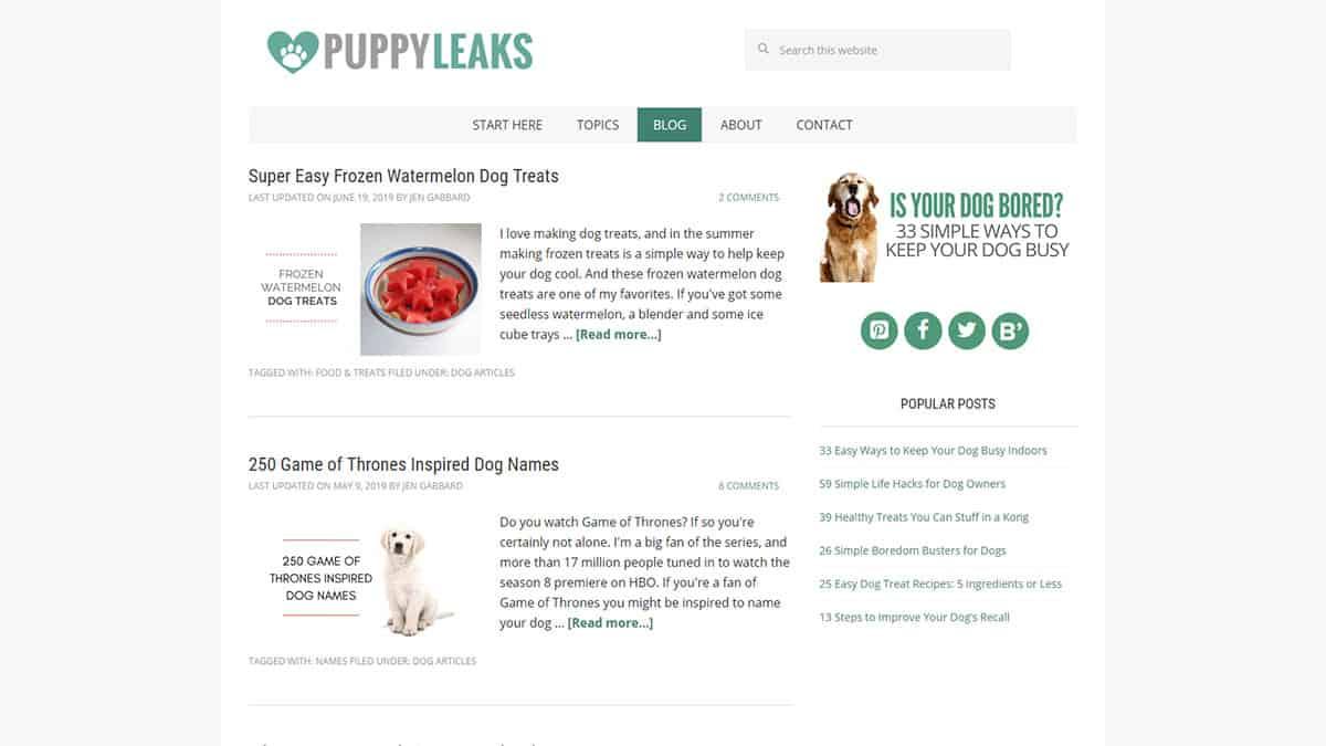 Puppy Leaks