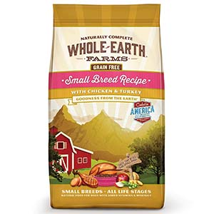 Whole Earth Farms Grain Free Small Breed