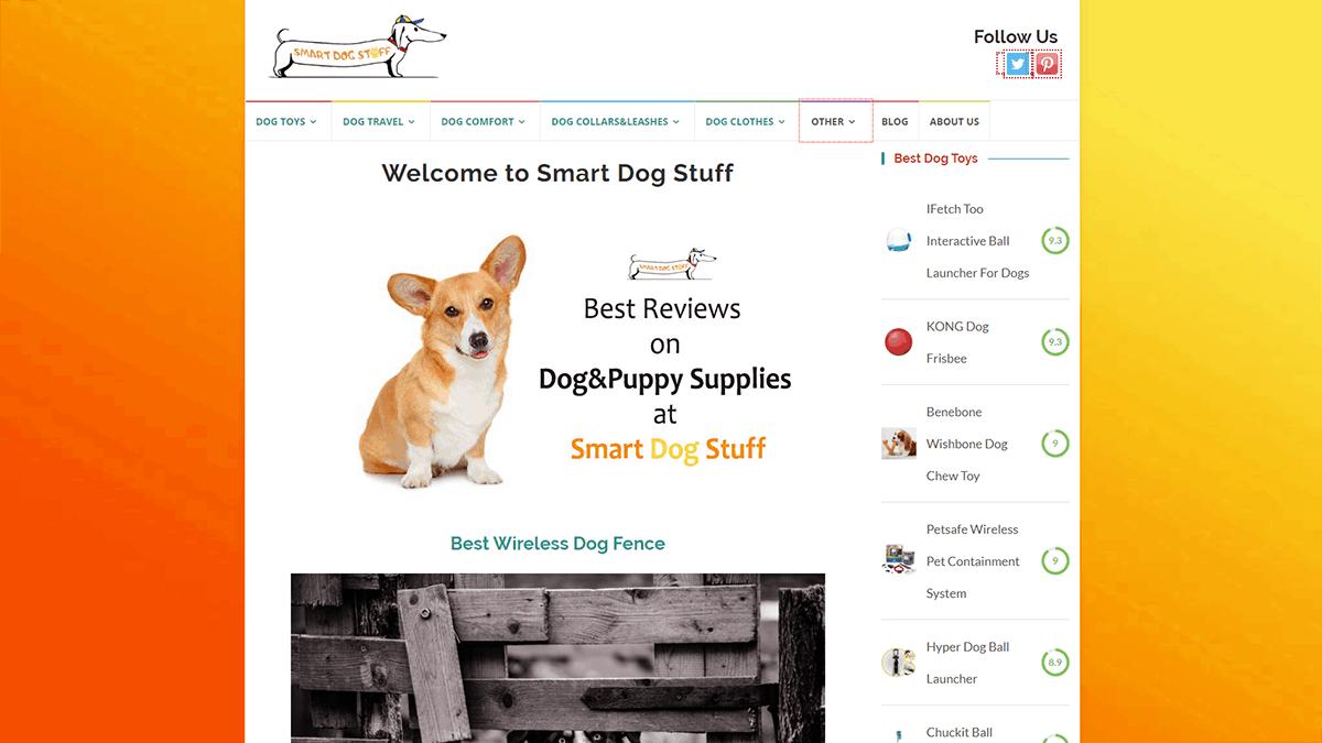 Smart Dog Stuff