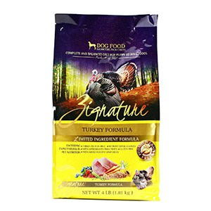 Zignature Turkey Limited Ingredient