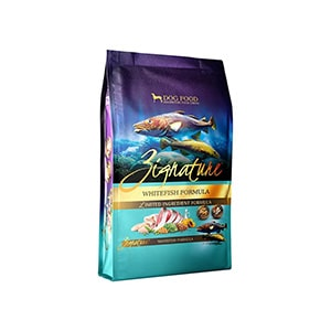 Zignature Whitefish Limited Ingredient